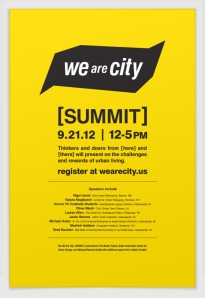 We are City - Summit 2012